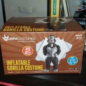Morph Costumes Inflatable Gorilla Costume
